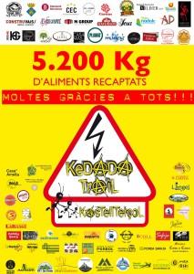 Cartell agraïment Kedada 16