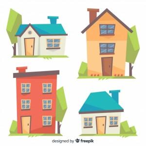 coleccion-colorida-viviendas-estilo-dibujo-animado_23-2147927470